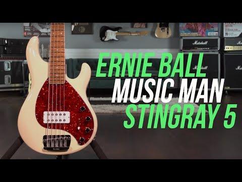 Ernie Ball Music Man Stingray 5 30th Anniversary Bass