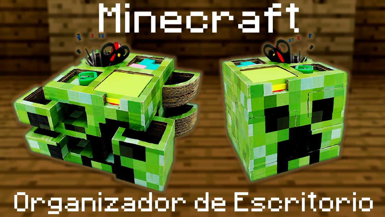 Organizador de escritorio de Minecraft cmo se hace  YouTube