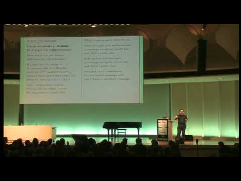 [27C3] (en) High-speed high-security cryptography: encrypting and authenticating the whole Internet