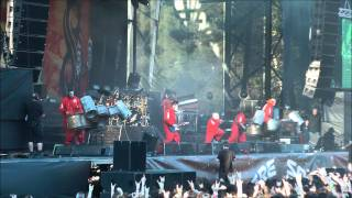 SLIPKNOT BEFORE I FORGET SONISPHERE 2011 LIVE ( PAUL GRAY MEMORIAL WORLD TOUR ) 17 JUNE - HD 1080p