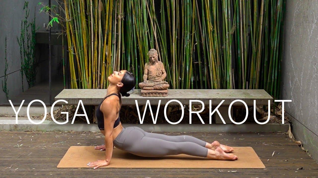 30 MIN PILATES YOGA WORKOUT    Full Body Stretch & Strengthen