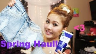 collective haul dry shampoo mac makeup high waisted denim shorts