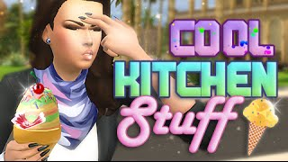 The Sims 4 Stuff | Cool Kitchen Overview + Giveaway.