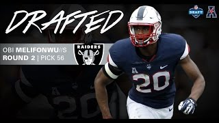Oakland Raiders Select UConn's Obi Melifonwu 56th Overall in 2017 NFL Draft