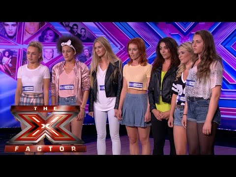 Pow Pow Girls sing You Don't Know You're Beautiful | Room Auditions Week 2 | The X Factor UK 2014
