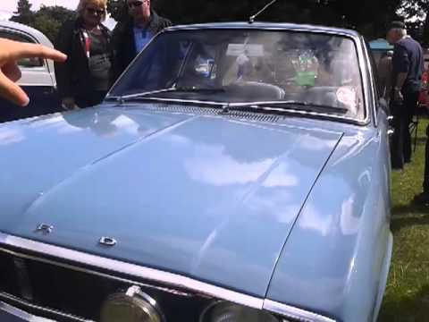 Ford cortina at raby castle car show