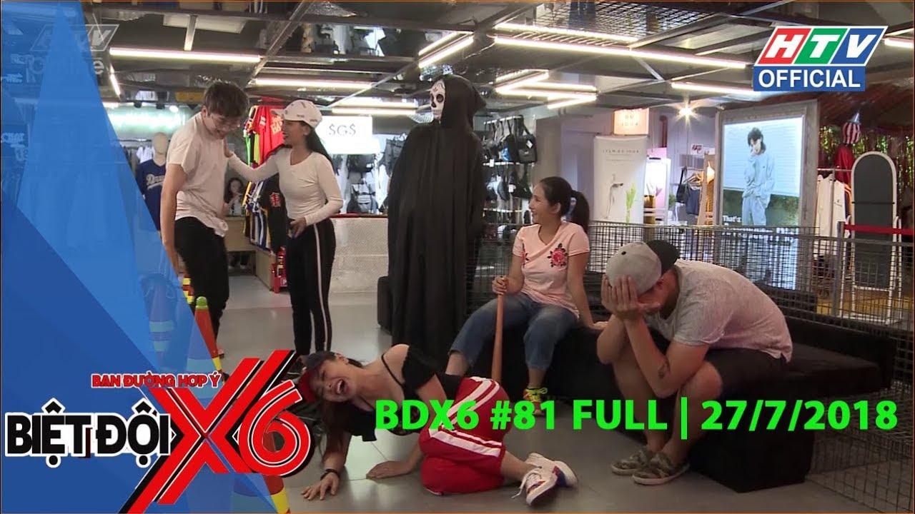 image HTV BIỆT ĐỘI X6 MÙA 2 | Cuộc đua trong phòng tập gym | BDX6 #81 FULL | 27/7/2018