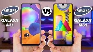Samsung Galaxy A31 vs Samsung Galaxy M31