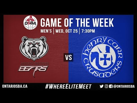 OSBA GOTW - Athlete Institute vs. Henry Carr (Men's)