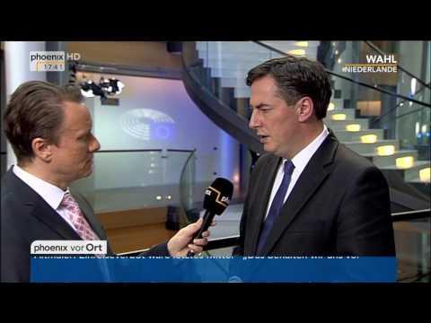 Wahl Niederlande: David McAllister im Interview am 15.03.2017