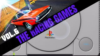 Sony Playstation: All RACING / DRIVING Games VOL.6 - Street Racing