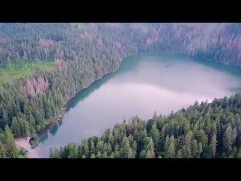Černé jezero | Mavic pro | 4K