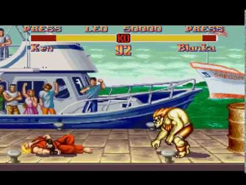Super Street Fighter 2 - The New Challengers (1994) [SNES] Intro With Demo Play