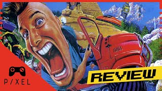 BIG RED RACING [1996, MS-DOS] Review | It