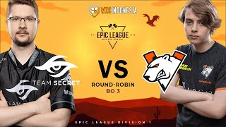 [Dota 2 Live] Nigma vs Vikin.gg | EPIC LEAGUE Groupstage BO3 | ANONIM