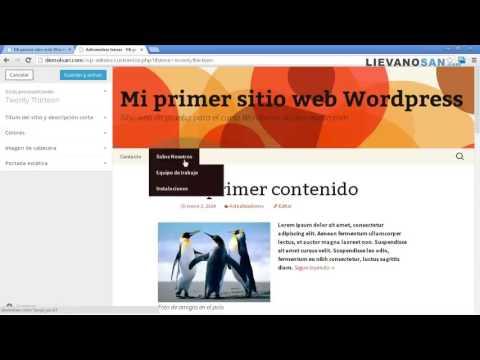 Como Administrar tus plantillas en WordPress - Tutorial de Wordpress ...