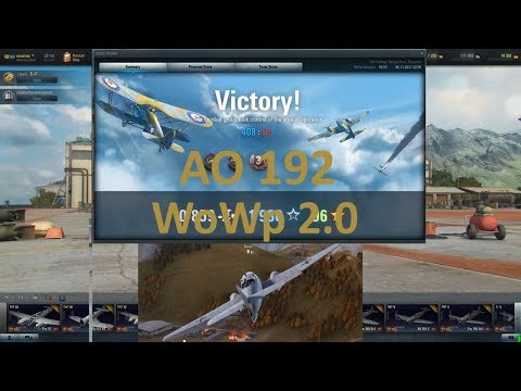 World of Warplanes 2.0 - AO 192
