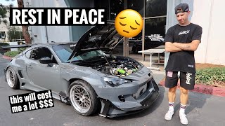 My 450 Horsepower Subaru BRZ BLEW UP...I Can't Believe it