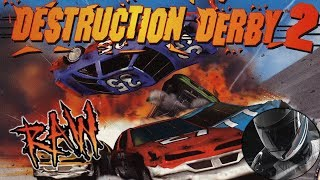 DESTRUCTION DERBY 2 - 3 (RAW) - Ретро Обзор - Видео от ASG