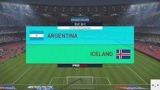 러시아 월드컵 아르헨티나 vs 아이슬란드 매치 게임 경기 예측 하이라이트 영상