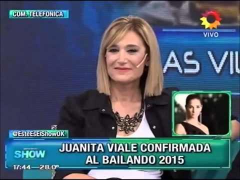 Juana Viale confirmó su participación en Bailando 2015: ¿Le habrán prometido el dinero que exigía?