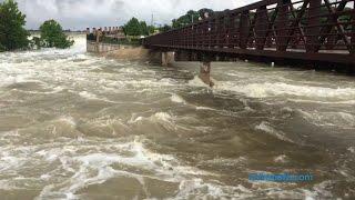 Caught on camera: North Texas flooding