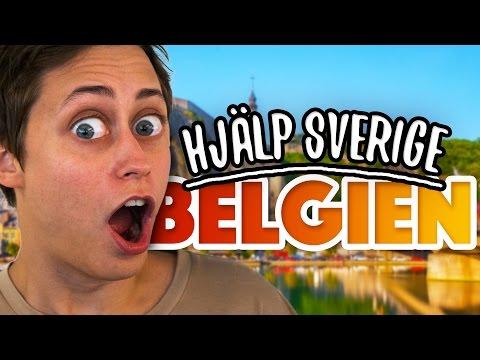 Hjälp Sverige!   Belgien   Ep 2