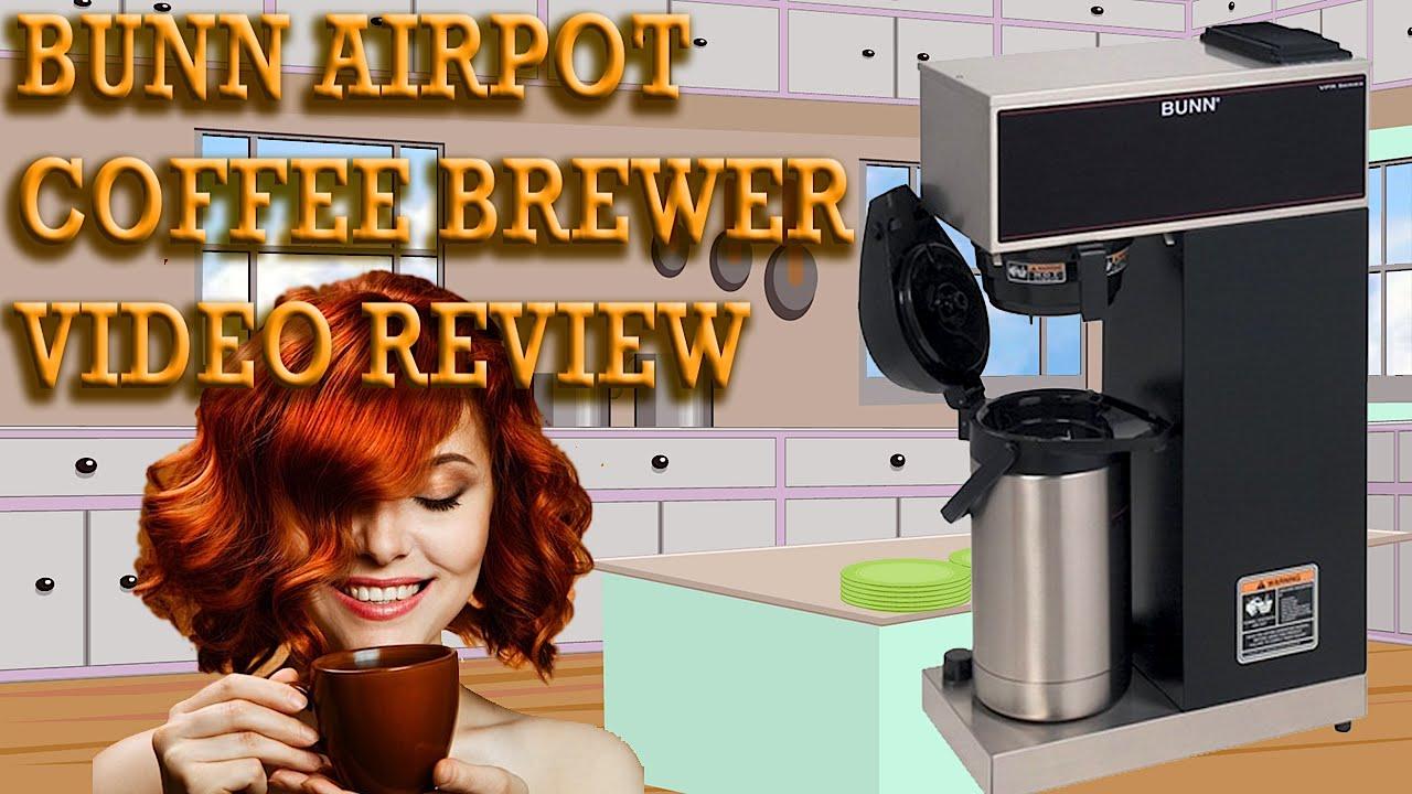 My Bunn Coffee Maker Not Working : Bunn Airpot Coffee Brewer Review - BUNN VPR-APS Pourover Airpot Coffee Maker Reviewed - YouTube