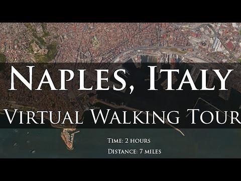 Naples, Italy Virtual Treadmill Walk