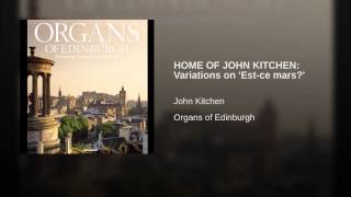 HOME OF JOHN KITCHEN: Variations on