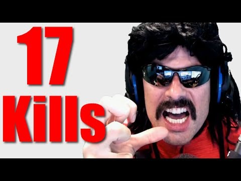 Dr Disrespect EPIC 17-Kill WIN on Battlegrounds! ♦Best of DrDisrespectLive♦