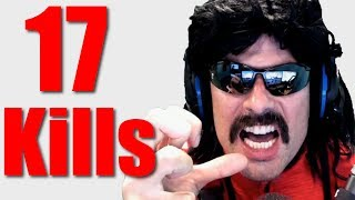 "Dr Disrespect EPIC ""17-Kill"" WIN on Battlegrounds! ♦Best of DrDisrespectLive♦"