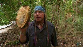 Cody vs. Joe: Opening a Coconut | Dual Survival