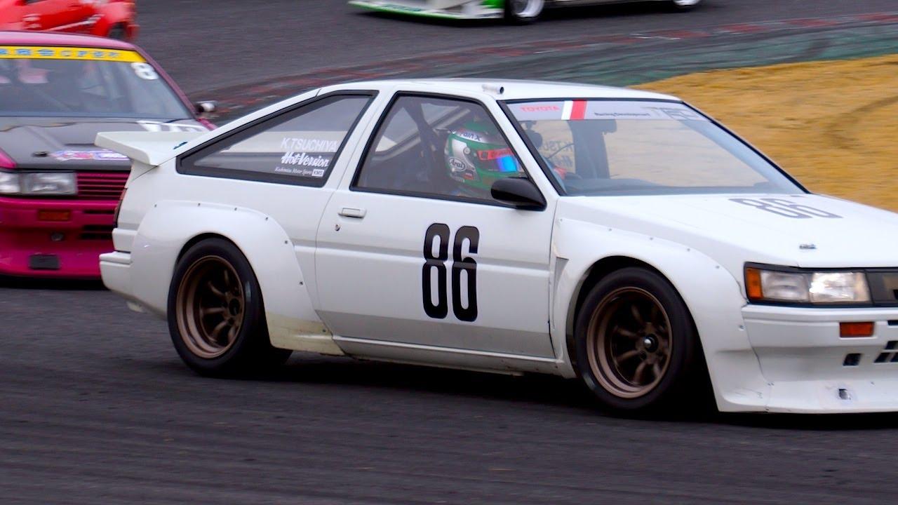 Trd Ae86 Race Car Part 3 Race Youtube