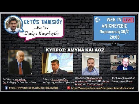 ΕΚΤΟΣ ΠΛΑΙΣΙΟΥ Κύπρος Άμυνα και ΑΟΖ