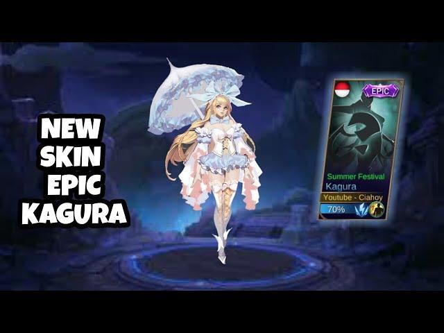 Wadaw! Kagura Dapet Skin Epic! | Mobile Legends Indonesia