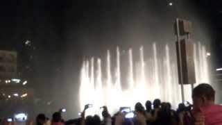 Fountain dance (dubai) (vln)