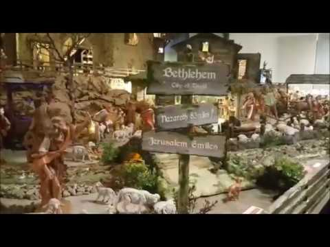 Nativity at Bethlehem in Cathedral of the Good Shepherd in Singapore