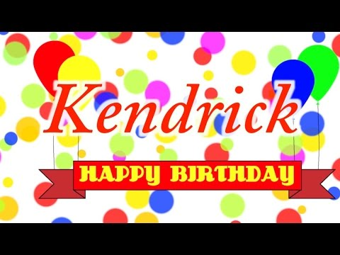 Happy Birthday Kendrick Song