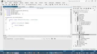 asp.net mvc4 - Bài 6: Kết nối database, view dữ liệu lên trang chủ