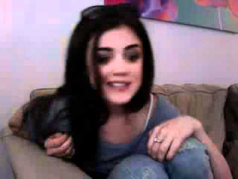 Lucy Hale Ustream 9/17/10