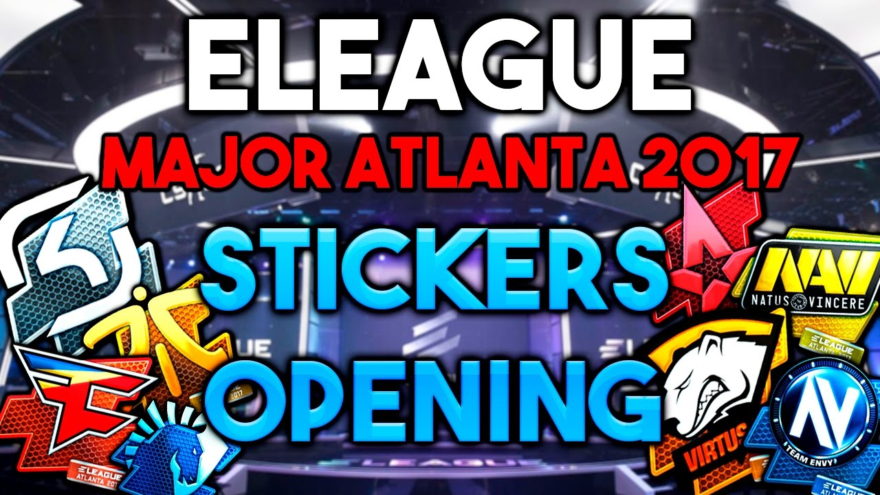 Eleague Stickers