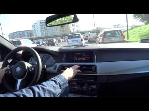 2016 BMW 5 Series 528i M xDrive FIRST IMPRESSIONS Test Drive [ENG] [PL] City Driving