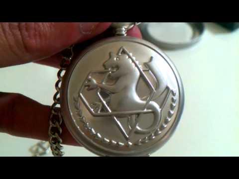 Đồng hồ quả quýt dây chuyền đeo cổ - Pocket Watch necklace (2).MP4