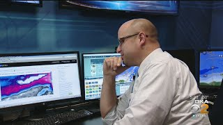 KDKA Meteorologists Work To Break Down How Much Snow Pittsburgh Will See