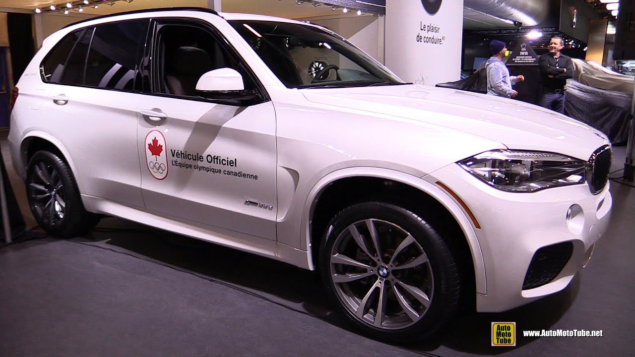 2017 Bmw X5 35d Xdrive M Sport Package Exterior Interior Walkaround Montreal Auto Show