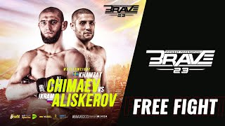 BRAVE CF 23 - Khamzat Chimaev vs Ikram Aliskerov - FULL Fight