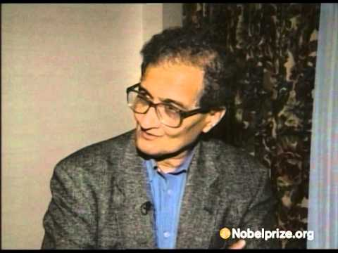 """I need a cup of coffee."" Amartya Sen, on being awarded the Prize in Economic Sciences"
