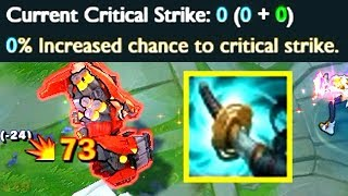 How to ALWAYS CRIT with 0% CRIT CHANCE?!