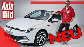 VW Golf 8 (2019): Neuvorstellung - Sitzprobe - Kompakt - Infos